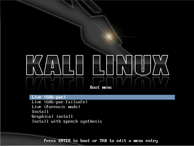 Kali Linux – наследник Backtrack